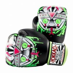 APEX Snake Muay Thai Boxing Gloves black 1