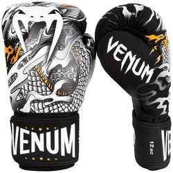 Dragons Flight Boxing Gloves blackwhite 1