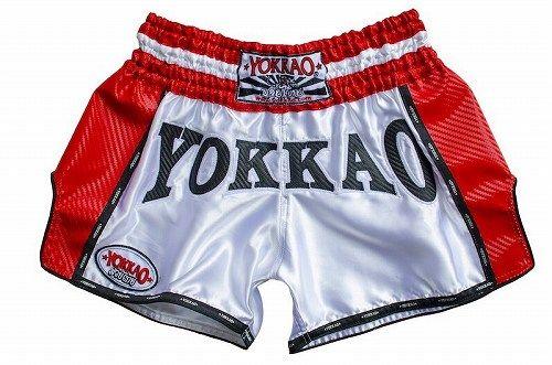 YOKKAO DENIM CARBON STORM MUAY THAI BOXING SHORTS