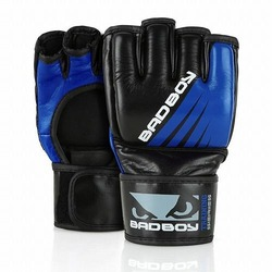 Training Series Impact MMA Gloves  Without Thumb blue1