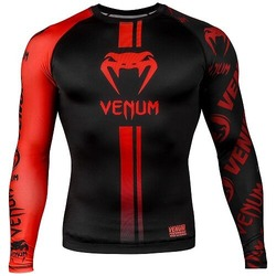 Logos Rashguard ls blackred1