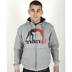 Zip hoodie Classic Gray1