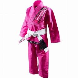Yuushi Youth Jiu Jitsu Gi pink 1a