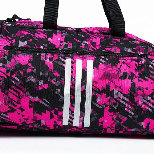 14adiACC058 - 2IN1 BAG - PINK Camo - close up 05