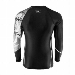 Soldier Rashguard black grey 4