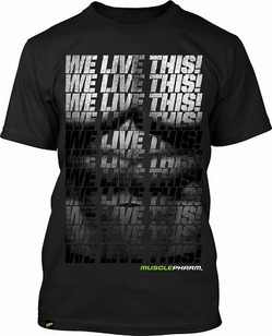 MusclePharm Muscle T-Shirt Black 1