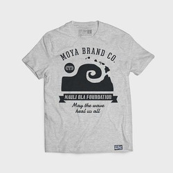 MAULI OLA SHADED TEE light grey 1