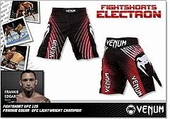 VENUM ファイトショーツ Electron UFC Edition 赤/黒