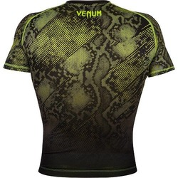 Fusion Compression T-shirt - Short Sleeves black-yellow 3