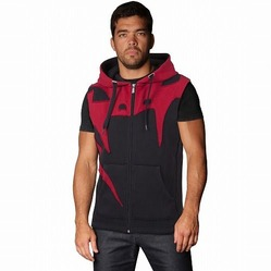 Assault Sleeveless Hoodie - Red Devil 1
