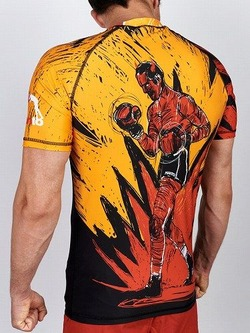 MANTO short sleeve rashguard DEVIL 1