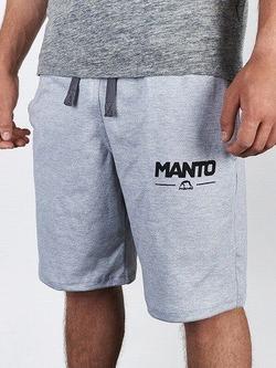 MANTO cotton shorts COMBO LIGHT melange 1
