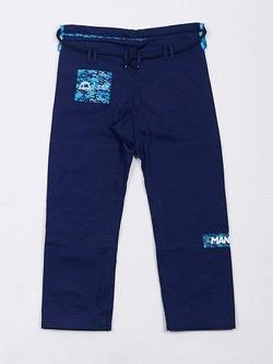Manto CAMO BJJ GI navy blue 4
