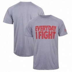 TapouT Everyday I Fight T-Shirt [Grey Red]1