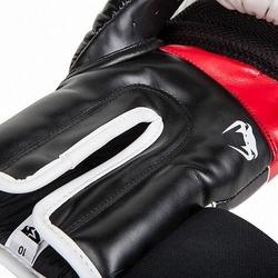 Glove Elite Wt Bk Red4