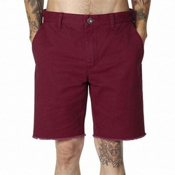 RVCA All Time Cutoff Chino Walkshort  Crimson 1