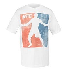 UFC Tシャツ Chuck Fade 白