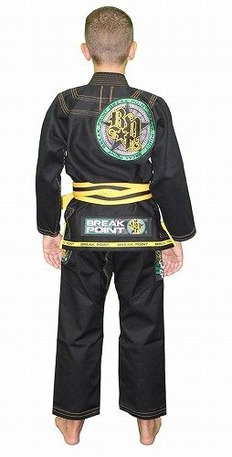 Built To Submit Deluxe Kids Black Gi 2