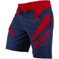 Jaws Cotton Shorts navy-red 1