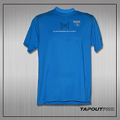 TapouT Pro Fitted for Combat Top (Blue)1
