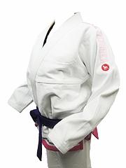 Bull Terrier Jiu-jitsu Gi Feminino White