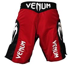 VENUM ファイトショーツ Elite UFC Edition 赤/黒