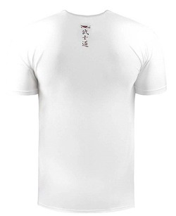 Samurai Warrior tee white 2