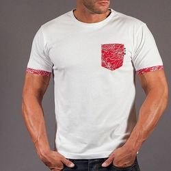 Scramble Irezumi Pocket T-Shirt White 1