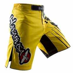Chikara Recast Performance Shorts  Yellow2