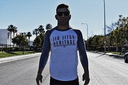 Jiu Jitsu Heritage Baseball Tee 3