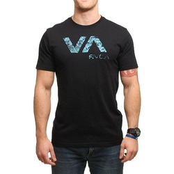 RVCA TROPIC DOOM TEE BLACK 1