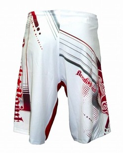 Progression WhiteRed Shorts2