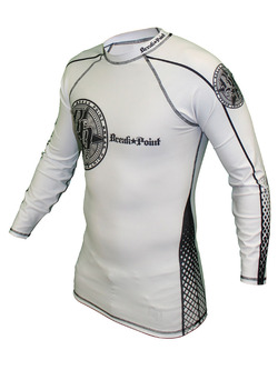Elite Rash Guard White longsleeve 2