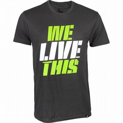 Tee We Live This Shirt Gray1