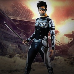 Cyborg Ninja Rash Guard 1