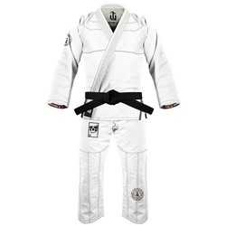 Immortal Warrior Jiu Jitsu Gi white1