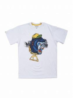 MANTO tshirt RASTA white 1