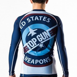 Top Gun Classic Rash Guard navy 2