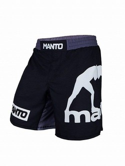 fight shorts LOGO blackwhite 1