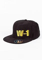 W-1  Cap - Black1