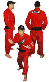 RE柔術衣赤