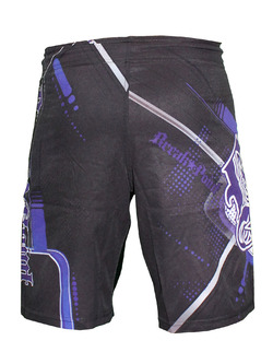 Progression Black Purple Shorts 3