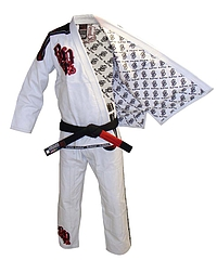 JiuJitsu GI Light Weight Deluxe White4