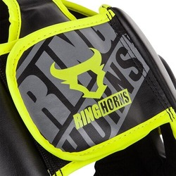 Ringhorns Charger Headgear Black Neo Yellow3