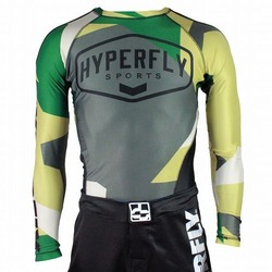 Sports Camo Rash Guard LS 1