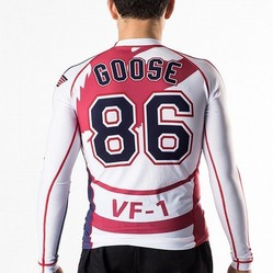 Top Gun Goose Volleyball Rash Guard 2