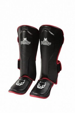 Red Line Shin Guards 1