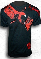 T-Shirt-Eagle Tearing Heart1