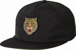 Leines Five Panel Hat black 1