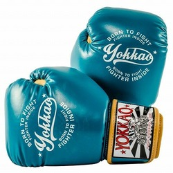 Vintage Boxing Blue Gloves1
